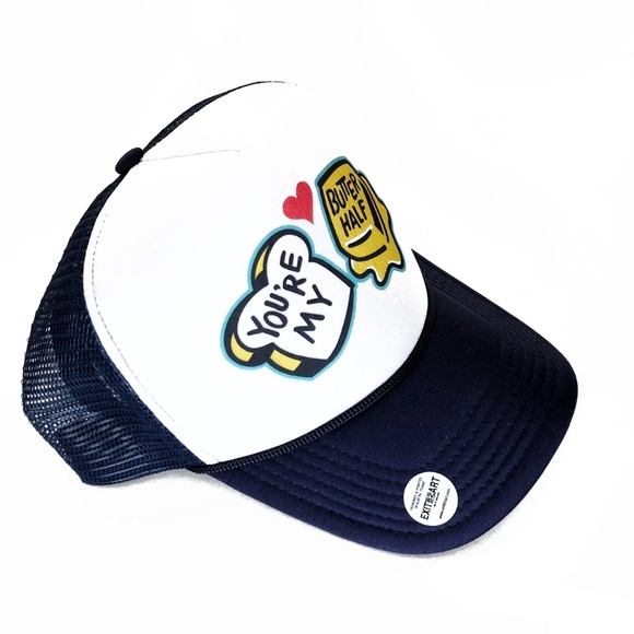 Other - YOU'RE MY BUTTER HALF Mural Snapback Trucker Hat